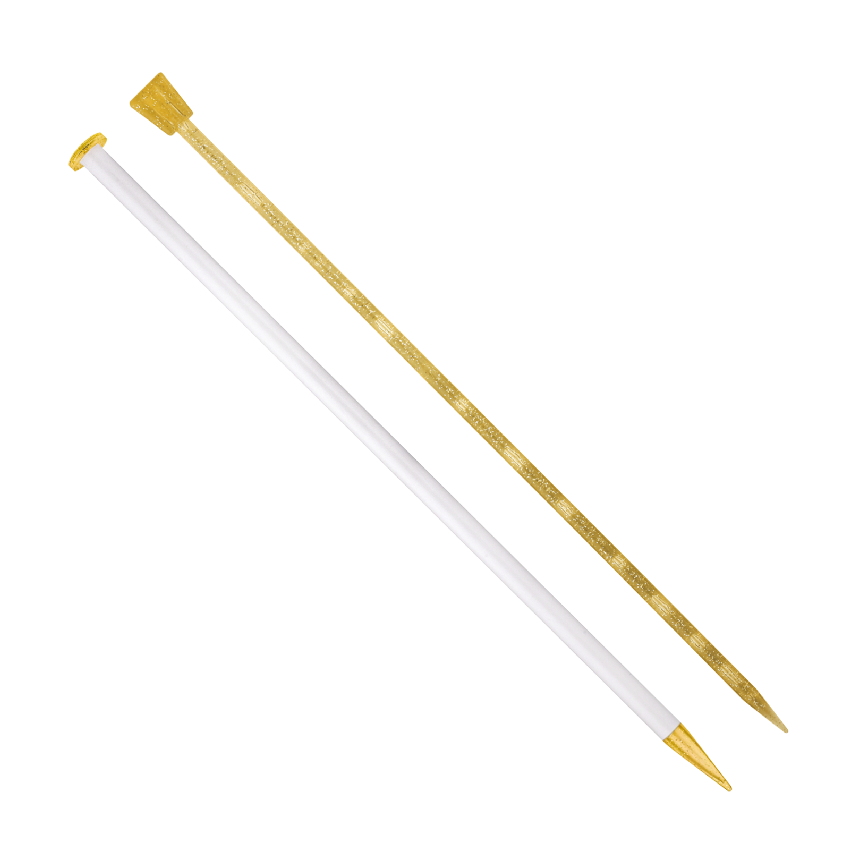 ADDI Knitting Needles - champagne plastic